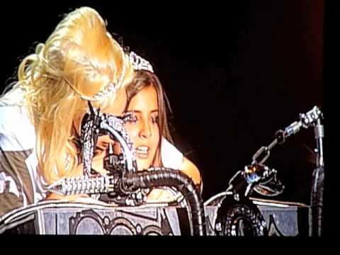 Lady Gaga - Hair live@ Zurich