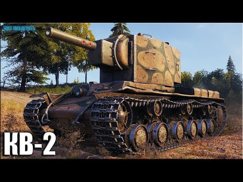 7к урона на КВ-2 World of Tanks ✅ лучший бой ТТ СССР 6 уровня