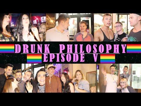 "Gay Drunk Philosophy - Ep. 5: ""Hilary Clinton's Transgender! LOL."""