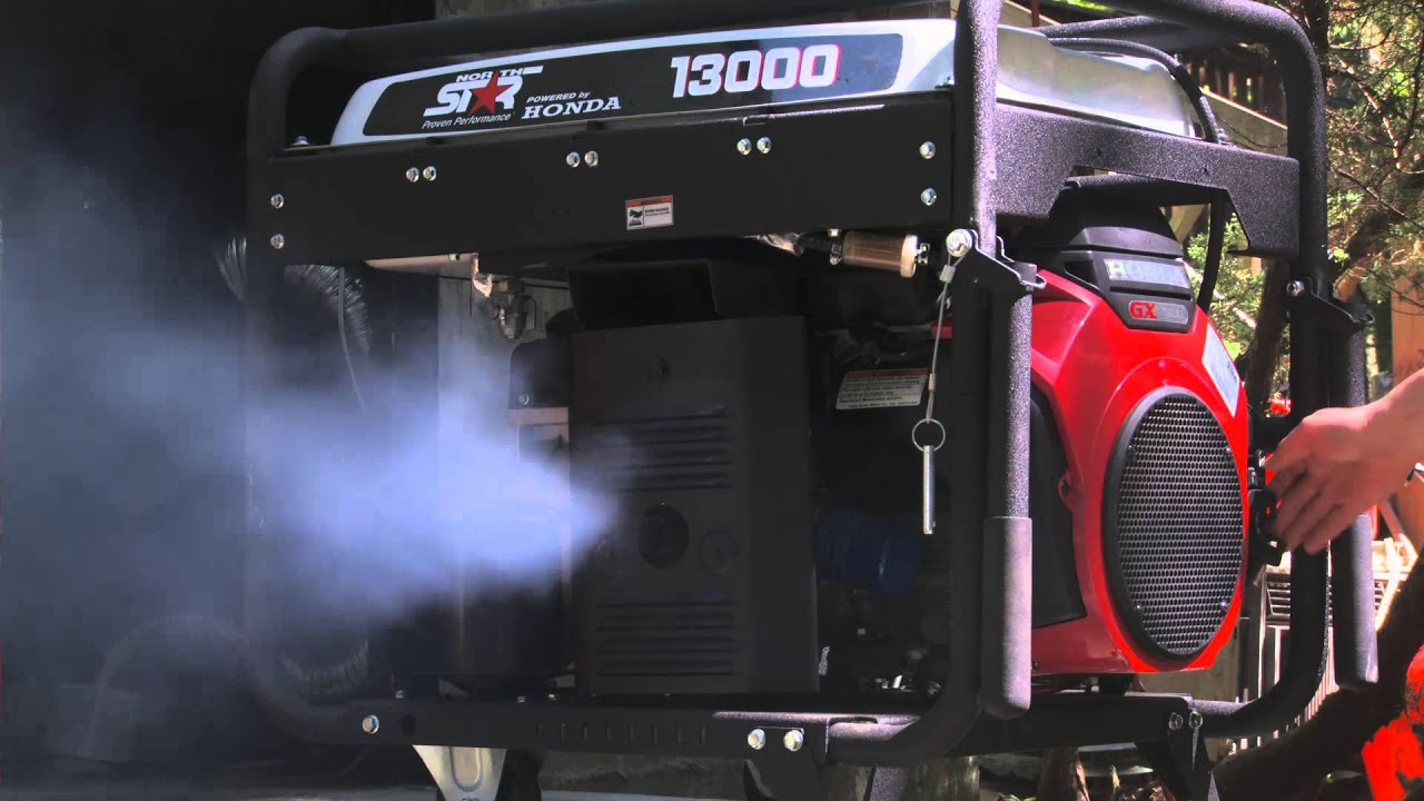 Northstar 13000 Smoking after Shutting Down Under 7000W Load - YouTube