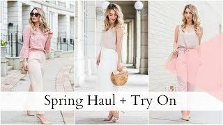 Spring Haul 2017 + TRY ON Featuring Zara + Aritzia | Joëlle Anello | La Petite Noob