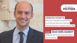 Jean Noël Barrot dresse le bilan de la situation économique face à la crise sanitaire