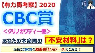 【CBC賞2020 有力馬考察】クリノガウディー他 人気馬5頭を徹底考察!