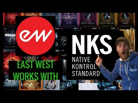 East West Support NKS for Maschine and Komplete Kontrol
