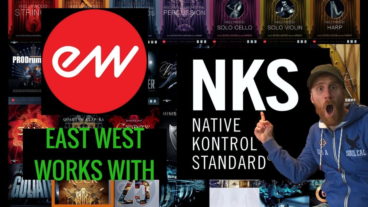 East West Play NKS for Maschine and Komplete Kontrol