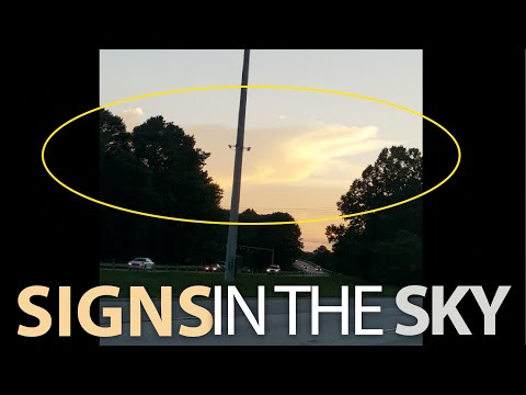 Signs in the Sky GOD'S HAND IN THE CLOUDS July 26 2016 Georgia