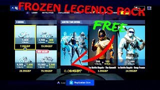 *NEW* HOW TO GET THE FORTNITE FROZEN LEGENDS PACK FOR FREE! - PS4/XBOX/PC/MOBILE