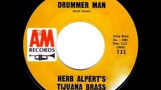 Tijuana Brass (Blossoms & Hal Blaine) - MEXICAN DRUMMER MAN  (Gold Star Studio)  (1964)