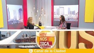 Entrevista mano a mano con María Rojí en Hoy nos toca a la Mañana