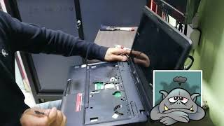 Como cambiar teclado de laptop Toshiba C645