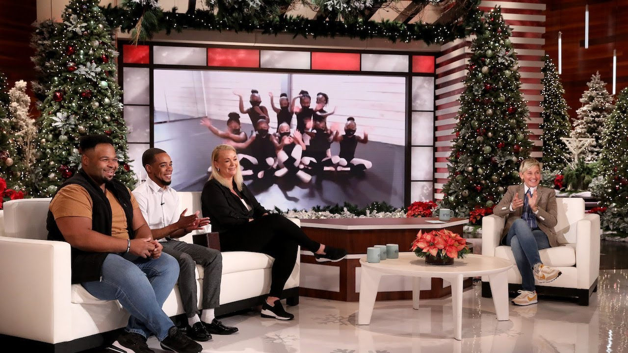 Ellen Surprises Trailblazing Dance Studio Employees
