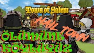 ÖLÜMÜNE KÖYLÜYÜZ ( HAİL TOWN ) | JAİLOR | Town of Salem | Türkçe | Rol  Yapma Oyunu