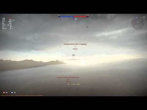 War Thunder Tier 1 Realistic Battle Ki 10 II C dogfight Japan Game play