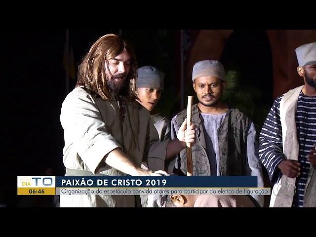 Saiba como ser figurante do espetáculo Paixão de Cristo 2019