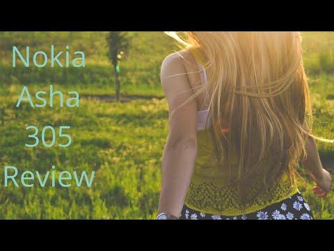 Nokia Asha 305 Review In Hindi
