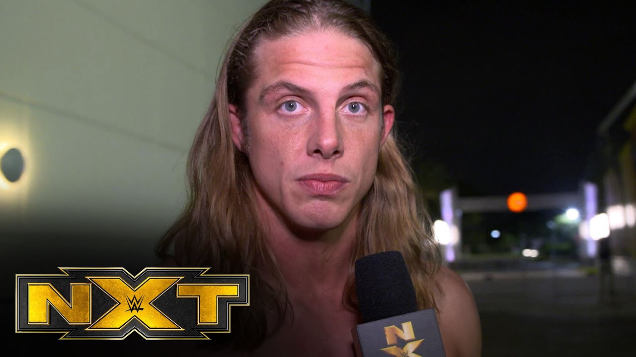 Finn Bálor won't make an example of Matt Riddle: NXT Exclusive, Nov 13, 2019
