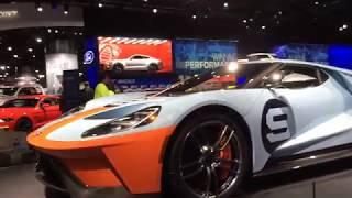 Ford display walkthrough at the 2019 Detroit auto show