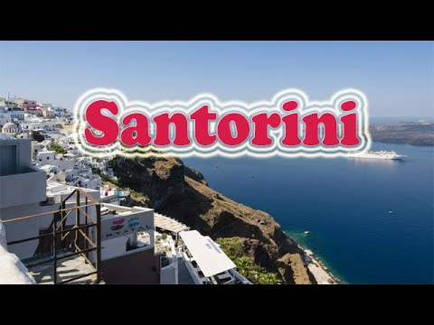 Santorini travel Best of Santorini | santorini greece tourist attractions