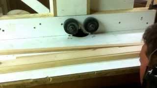 Crazy Diy Router Power Feeder. Fast Fast Fast!!!
