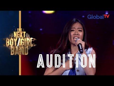 "Nathasya ""Aku Cuma Punya Hati"" I Singing Audition I The Next Boy/Girl Band GlobalTV"