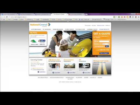 General Auto Insurance Quote and Rates