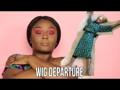 Where I've been, Nikkietutorials and James Charles shouting me out, trying new makeup thumbnail