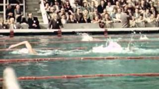 Olympic Game London 1948 - Swimming - COLOR FOOTAGE in HD