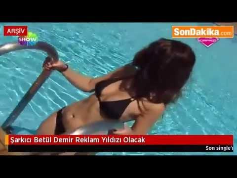 (NEFES KESEN GÖRÜNTÜLER''!!!)Şarkıcı Betül Demir Reklam Yıldızı Olacak