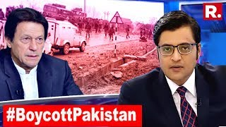#BoycottPakistan, Show Them Their Place | The Debate With Arnab Goswami