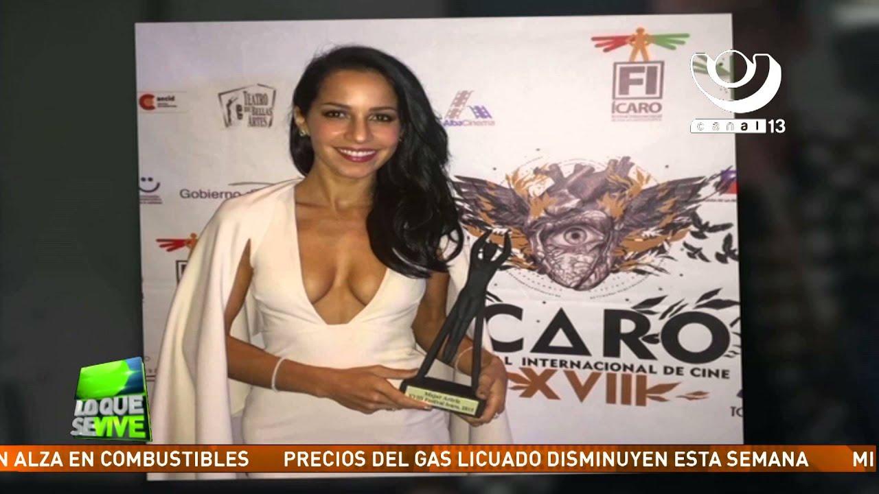 Angélica Blandón Desnuda paola blandón, de la pantalla desnuda, es galardonada como mejor actriz en  el festival Ícaro