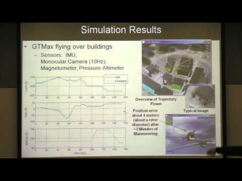 RI Seminar : Eric N. Johnson : Innovations for Unmanned Aircraft