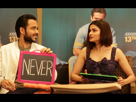 Emraan Hashmi & Prachi Desai play NEVER HAVE I EVER on Freaky Fridays  Season 6 Episode 3