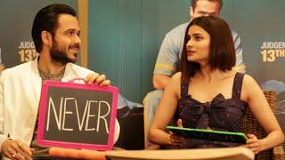 Emraan Hashmi & Prachi Desai play NEVER HAVE I EVER on Freaky Fridays   Season 6 Episode 3