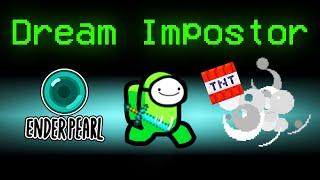 SPEEDRUN IMPOSTOR vs HUNTERS in Among Us (Dream Manhunt Mod)