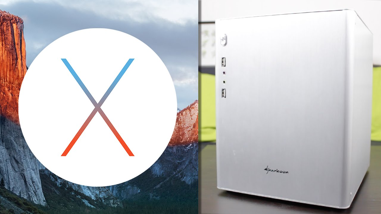INSTALLER OS X EL CAPITAN SUR PC HACKINTOSH