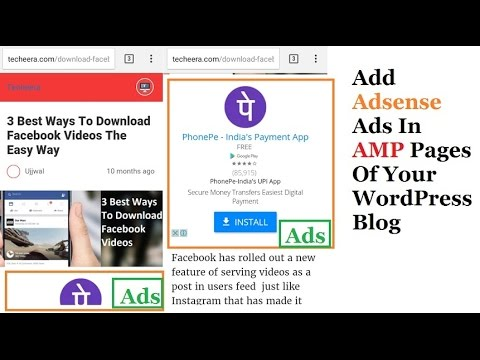 How To Create Or  Show Adsense Ads In AMP WordPress Pages