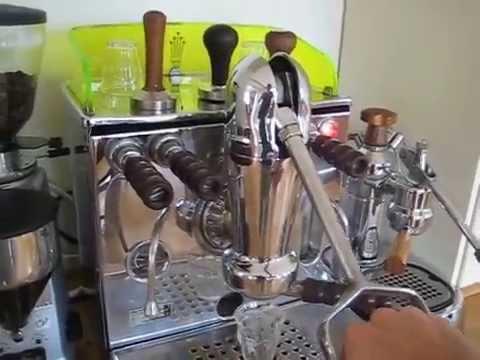 via venezia pump driven espresso machine