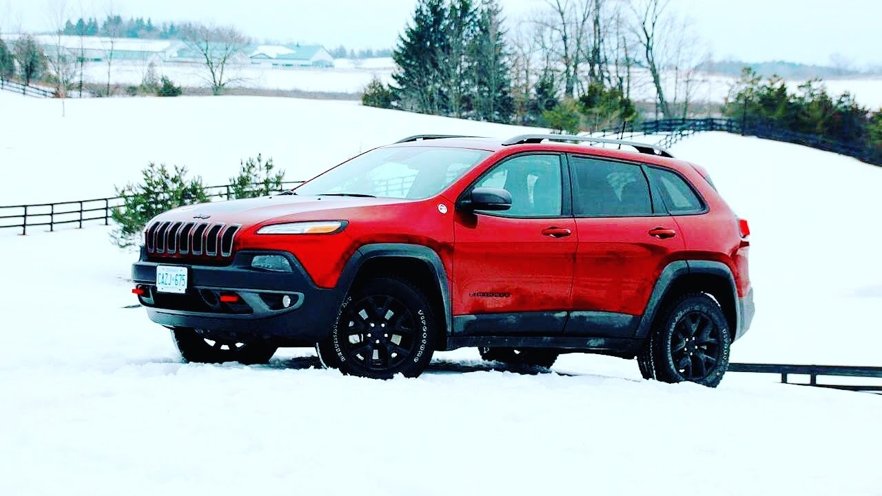 2017 jeep cherokee trailhawk 4x4 review youtube. Black Bedroom Furniture Sets. Home Design Ideas