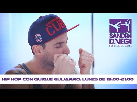 Class Workshop Hip Hop: Quique Guijarro. Academia De Baile Sandra D.Vega