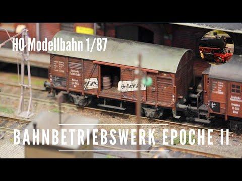 H0 Bahnbetriebswerk in Epoche II - BW Belgard