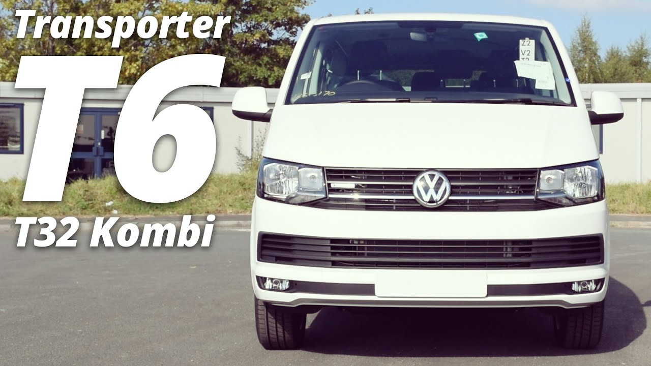2016 volkswagen transporter t6 t32 kombi long wheelbase 4motion walk around youtube. Black Bedroom Furniture Sets. Home Design Ideas