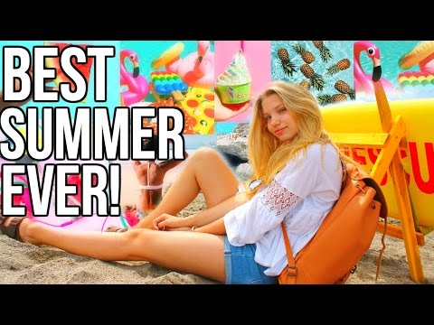 BEST SUMMER EVER! Hacks, Healthy food & drinks, Fun Ideas + Things to do!