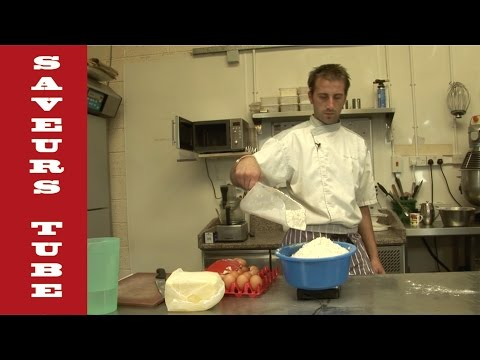 How to make Sweet Pastry with TV Chef Julien from Saveurs Dartmouth UK