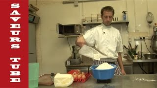 How to make Sweet Pastry with The French Baker TV Chef Julien from Saveurs Dartmouth U.K