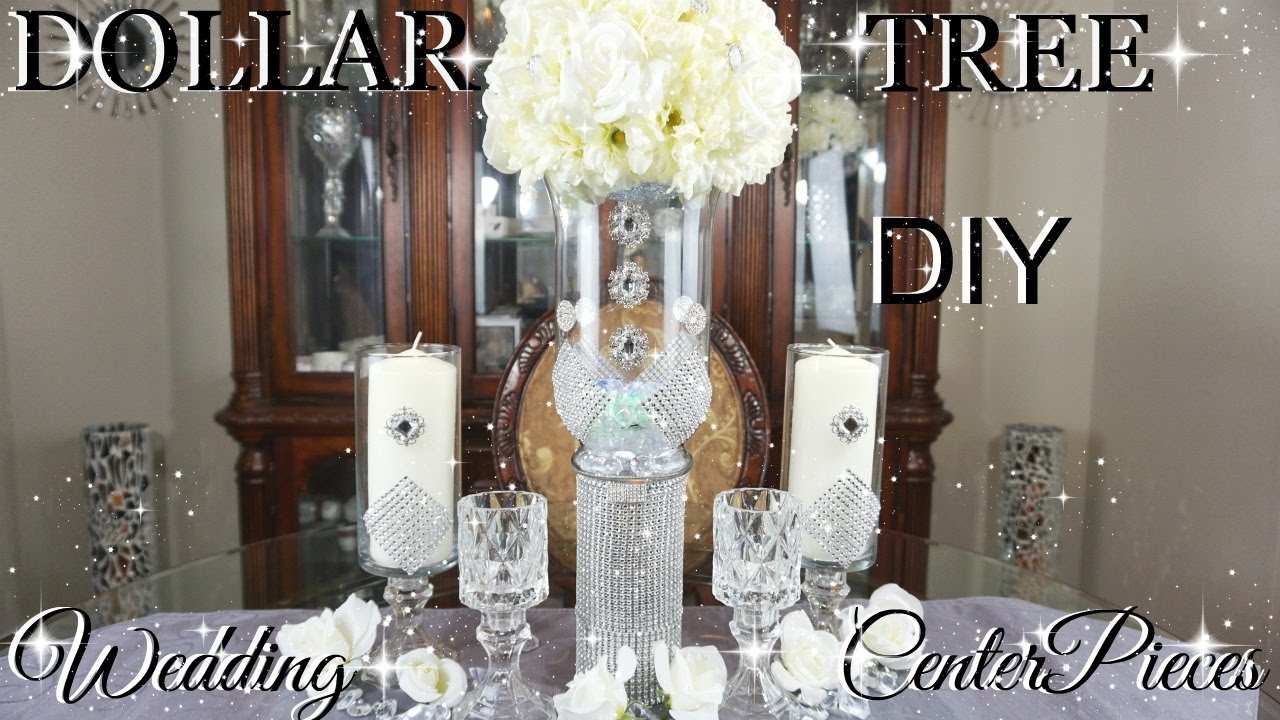 Diy dollar tree glamorous wedding centerpieces with totally dazzled diy dollar tree glamorous wedding centerpieces with totally dazzled bling gems petalisbless junglespirit Choice Image