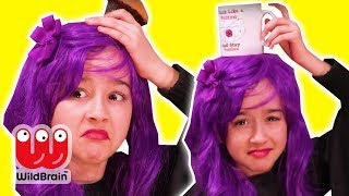 MALICE LOSES HER CROWN 👑 Who Took It?  - Princesses In Real Life | WildBrain Kiddyzuzaa