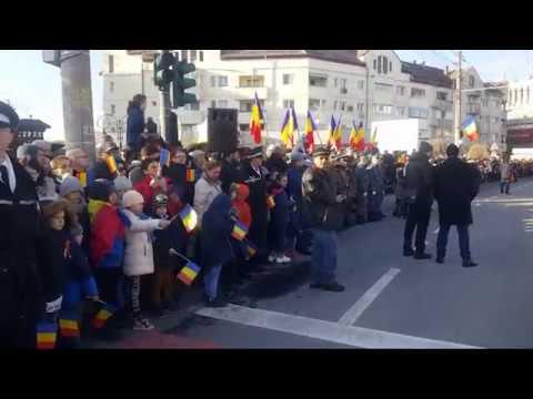 Paradă Militară de 1 Decembrie la Mediaș | novatv.ro