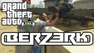 Repeat youtube video Eminem - Berzerk (GTA 5 Parody)