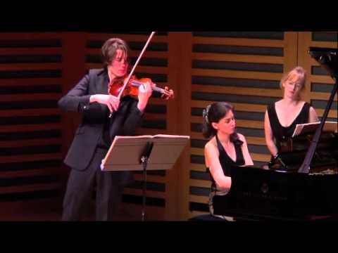 Janacek Violin Sonata 2nd Movt - Thomas Gould and Ivana Gavric