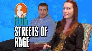 "Felicia Day Plays ""Streets Of Rage"" With Her Brother Ryon Day - The Flog, Ep. 2"